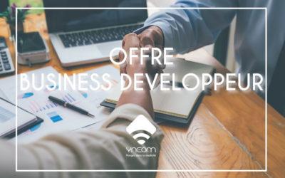 Ynéom recrute son commercial / business développeur